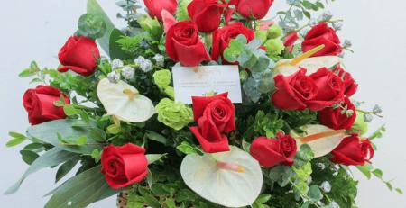 Không gian và thời gian lý tưởng nhất tặng hoa cho nàng